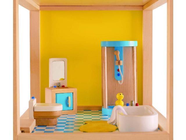 Badkamer Voor Poppenhuis : Poppenhuis meubels badkamer meubels meisjeskamer meubels